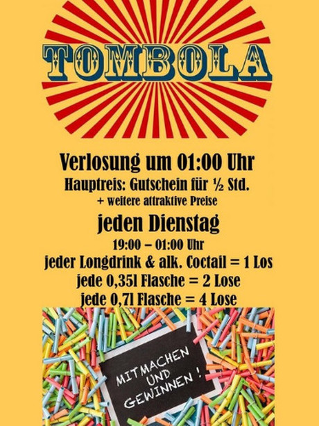 Tombola im Sauna / FKK Club Fun Palast Wien (A) in Wien