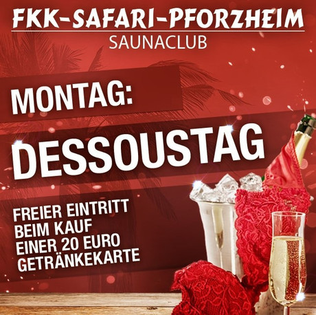 Dessous/Lingerie Day im Sauna / FKK Club FKK Safari Pforzheim (D) in Pforzheim