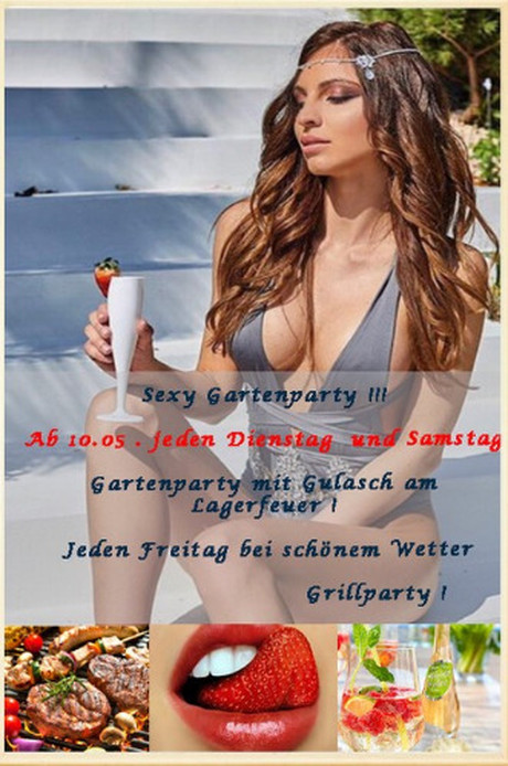Sexy Gartenparty im Sauna / FKK Club FKK Amore Freinberg (A)/Passau in Haibach-Oberhaibach bei Freinberg