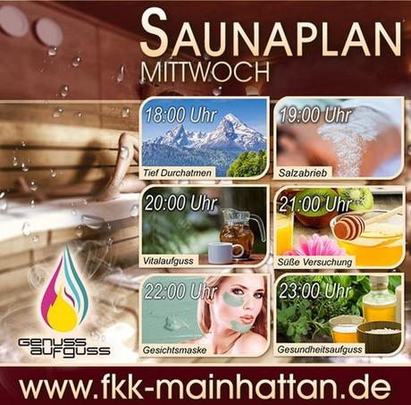 Sauna-Special im Sauna / FKK Club FKK Mainhattan Frankfurt (D) in Frankfurt
