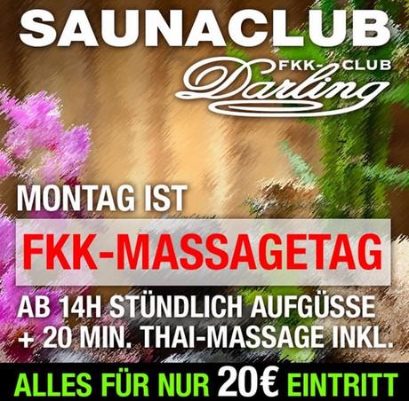 FKK Massage Day im Sauna / FKK Club FKK Darling Nidderau/Frankfurt (D) in Nidderau
